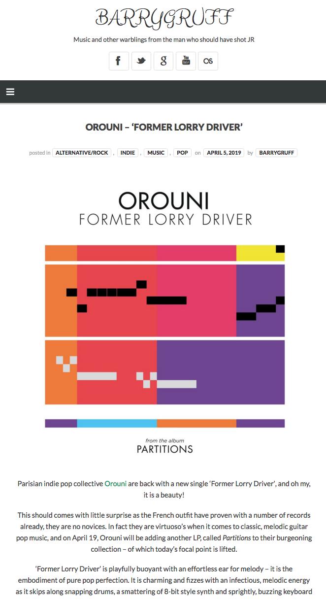 Orouni - BarryGruff