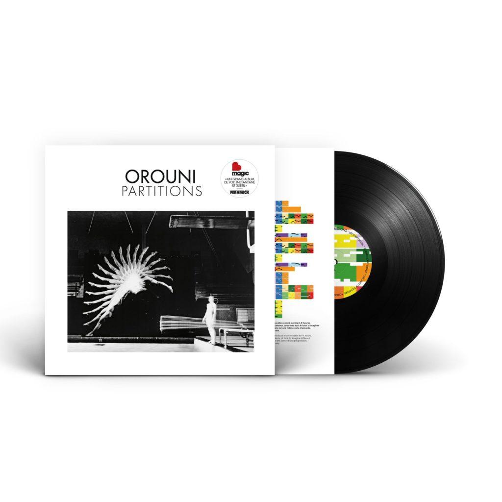 Orouni - Partitions vinyl