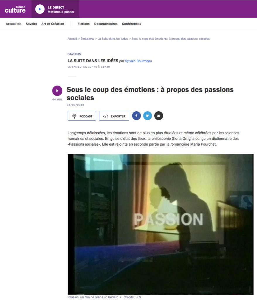 Orouni - La suite dans les idées (France Culture)