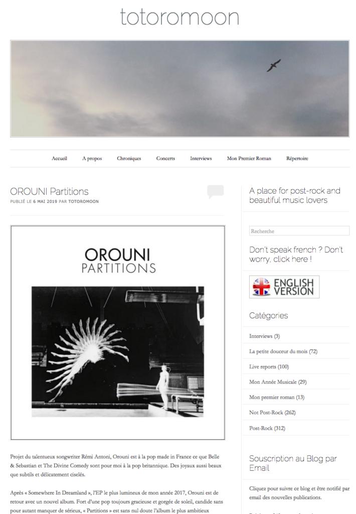 Orouni - Totoromooon