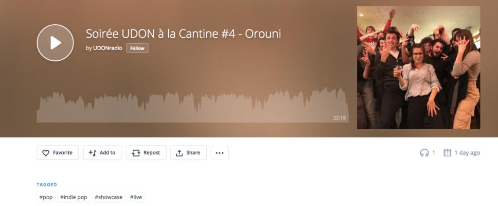Orouni - Udon radio