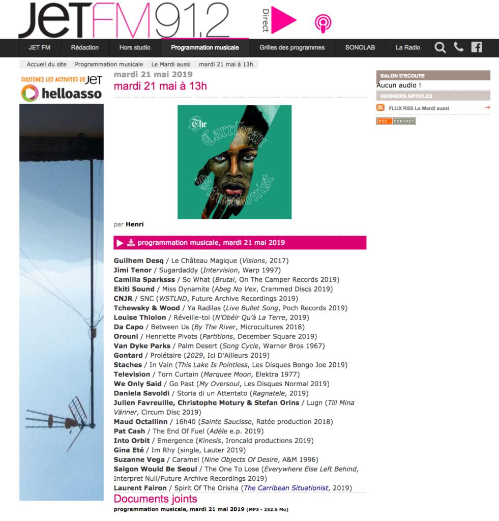 Orouni - Jet FM