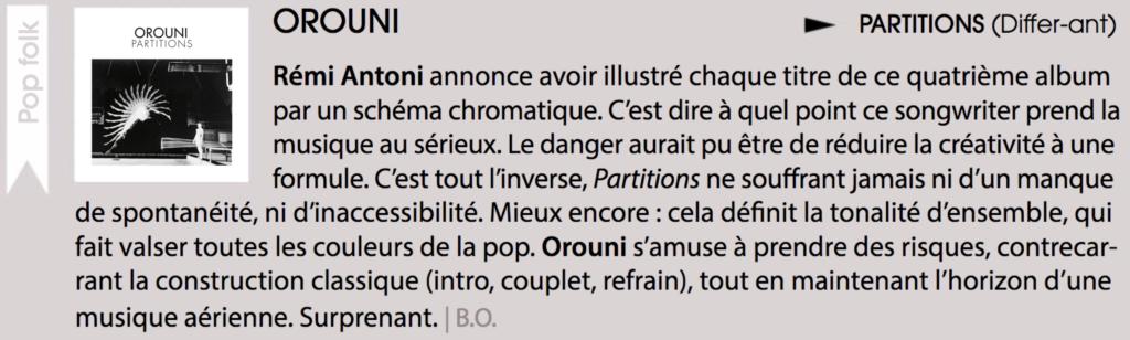 Orouni - Clutch
