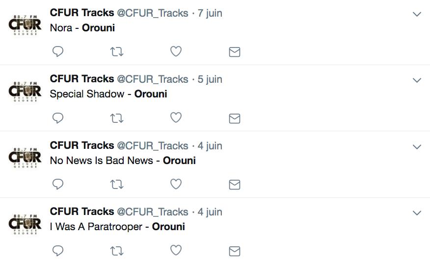 Orouni - CFUR
