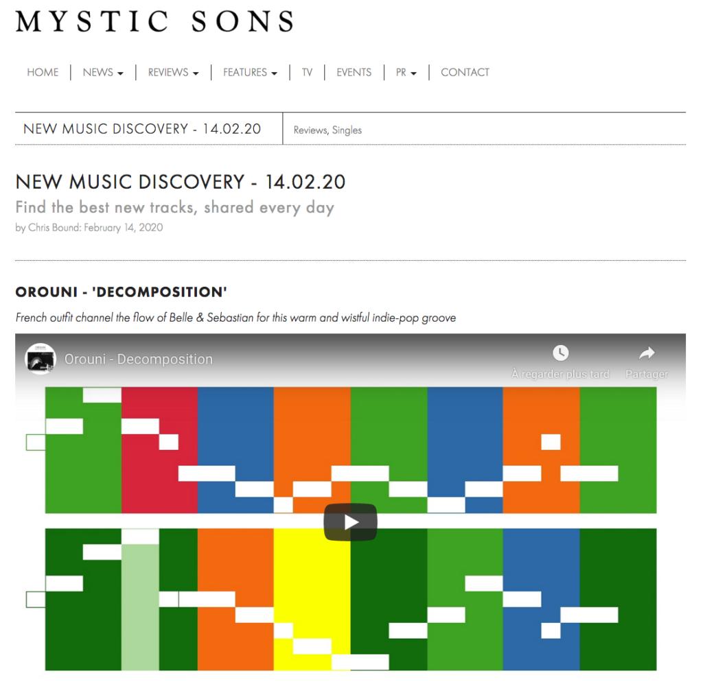 Orouni - Mystic Sons