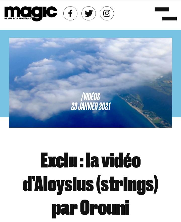 Orouni - Aloysius (strings)